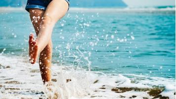 Il benessere dei piedi in estate
