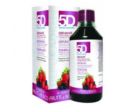 5D SLEEVERATO AI FRUTTI DI BOSCO 500ML