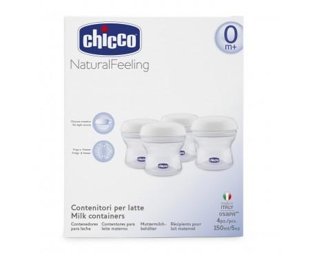 CHICCO CONTENITORI LATTE