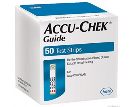 ACCU-CHEK GUIDE 50 STRIPS