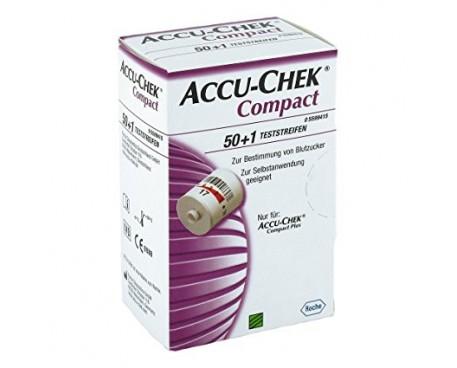 ACCU-CHEK COMPACT STRISCE 50+1 PEZZO