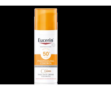 EUCERIN SUN CC CREAM NATURAL SPF 50+ 50ML