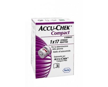 ACCU-CHEK COMPACT STRISCE 1X17 PEZZI