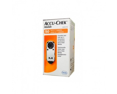 ACCU-CHEK MOBILE 50 TEST MIC2