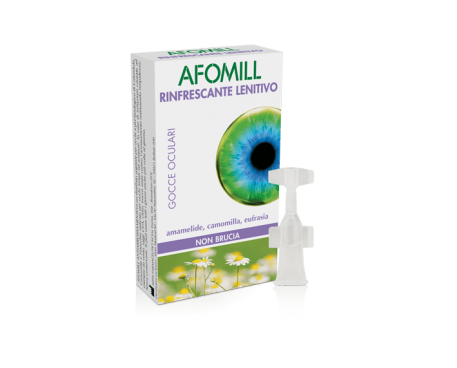 AFOMILL RINFRESCANTE LENITIVO 10 FIALE MONODOSE 0,5ML