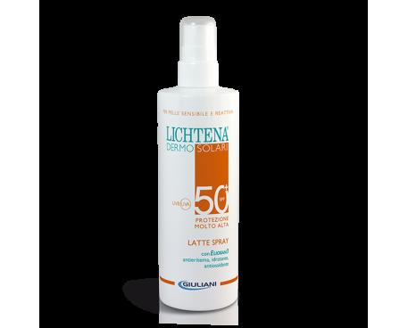 LICHTENA DERMOSOLARI LATTE SPRAY SPF 50+