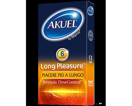 AKUEL BY MANIX LONG PLEASURE PROFILATTICI 6 PEZZI