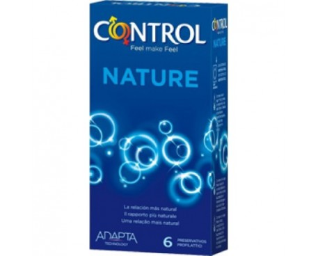 CONTROL NATURE PROFILATTICI 6 PEZZI
