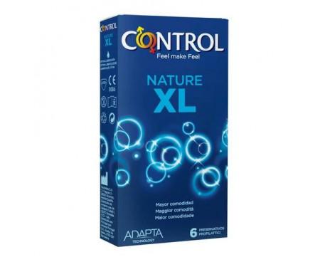 CONTROL NATURE XL 6 PEZZI