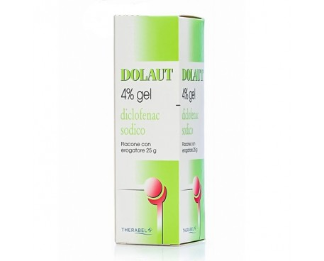 DOLAUT GEL SPRAY 25G 4%