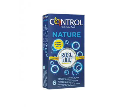 CONTROL NATURE EASY WAY PROFILATTICI 6 PEZZI