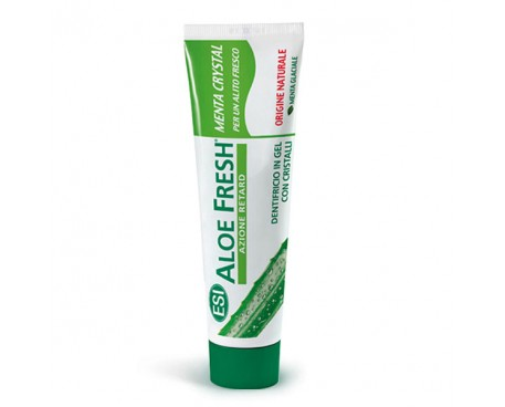 ALOE FRESH MENTA CRYSTAL DENTIFRICIO IN GEL 100ML