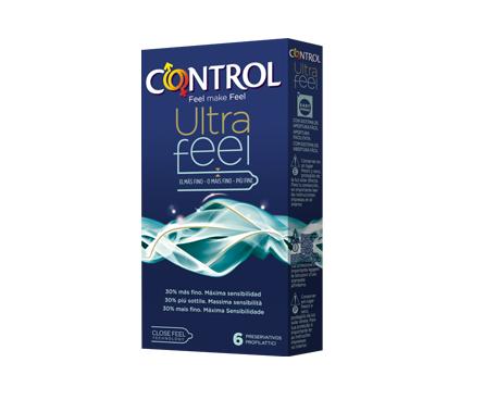 CONTROL ULTRAFEEL PROFILATTICI 6 PEZZI