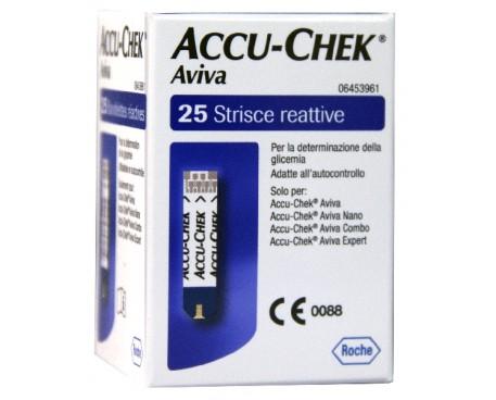 ACCU-CHEK AVIVA 25 STRISCE