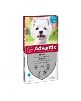 ADVANTIX SPOT ON 4 PIPETTE 1ML 4-10KG