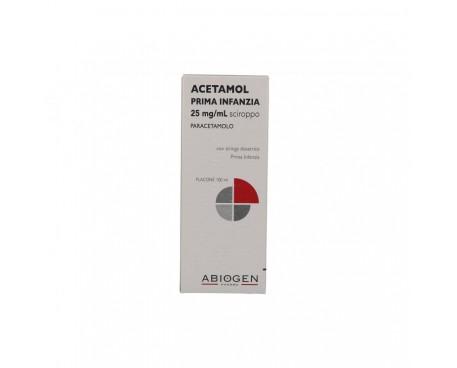 ACETAMOL SCIROPPO 100ML 2,5%
