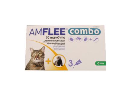 AMFLEE COMBO 3 PIPETTE 50MG+60MG