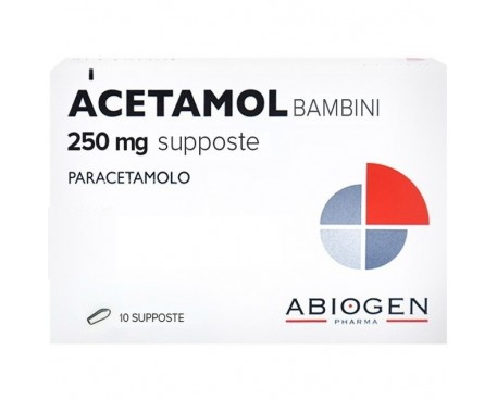 ACETAMOL PRIMA INFANZIA 250MG 10 SUPPOSTE