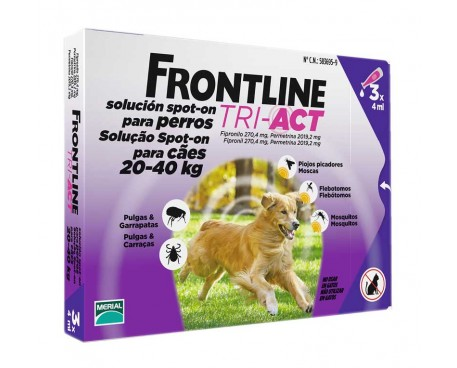 FRONTLINE TRI-ACT 3 PIPETTE 4ML
