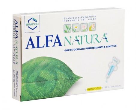 ALFA NATURA 10 FLACONCINI MONODOSE