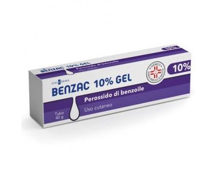 BENZAC GEL 40G 10%