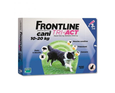FRONTLINE TRI-ACT 3 PIPETTE 2ML