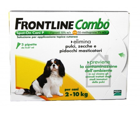FRONTLINE COMBO SPOT-ON CANI 3 PIPETTE 0,67ML