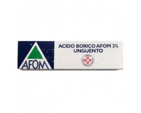 ACIDO BORICO AFOM 3% UNGUENTO 30G