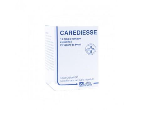 CAREDIESSE SHAMPOO 2 FLACONI 60ML 10MG/G