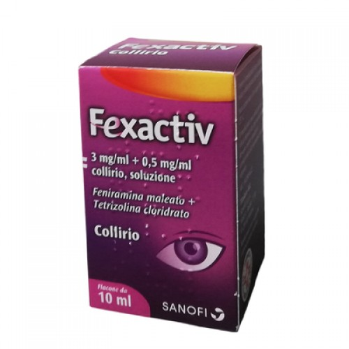 FEXACTIV COLLIRIO 10ML