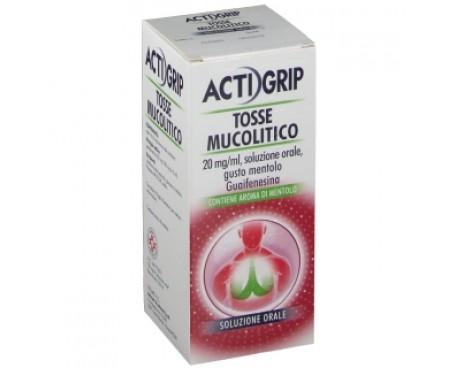 ACTIGRIP TOSSE MUCOLITICO 150ML