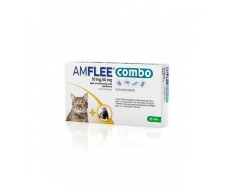 AMFLEE COMBO 1 PIPETTA 50MG+60MG