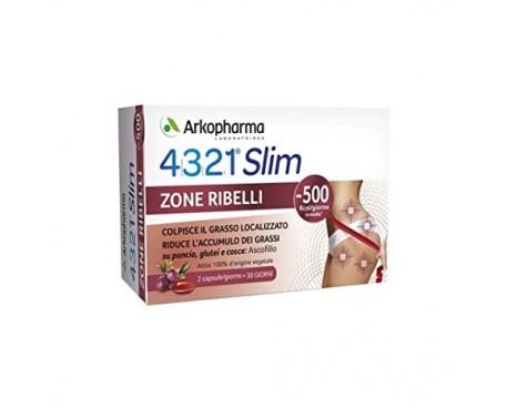 4321 SLIM ZONE RIBELLI 60 CAPSULE