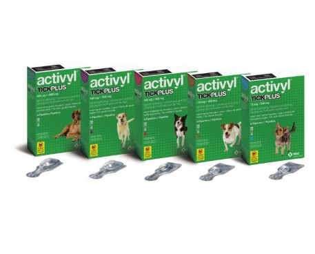 ACTIVYL TICKPLUS 4 PIPETTE 0,5ML 1-5KG