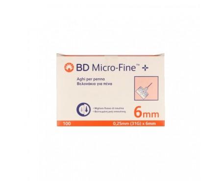 AGO BD MICROFINE G31 6MM 100 PEZZI