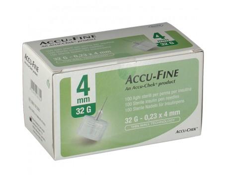 AGO ACCU-FINE PENNA PER INSULINA G32 4MM