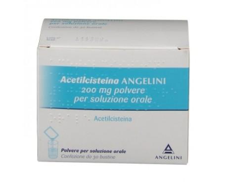 ACETILCISTEINA ANGENERICO 30 BUSTINE 200MG