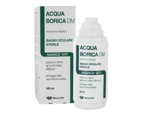 ACQUA BORICA BAGNO OCULARE STERILE