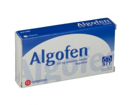 ALGOFEN 12 COMPRESSE 200MG