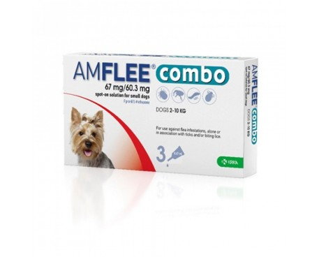 AMFLEE COMBO 1 PIPETTA 67MG+60,3MG