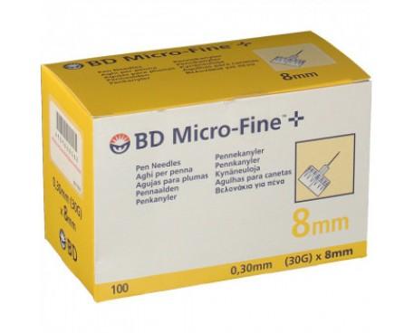 AGO BD MICROFINE G30 8MM 100 PEZZI