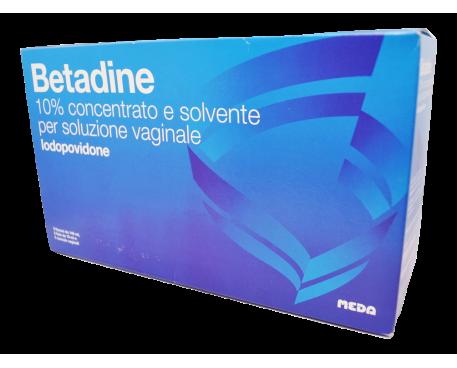 BETADINE SOLUZIONE VAGINALE 5 FLACONCINI + 5 FLACONI + 5 CANULE
