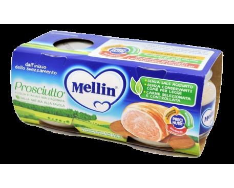 MELLIN OMOGENEIZZATO PROSCIUTTO 2X80G