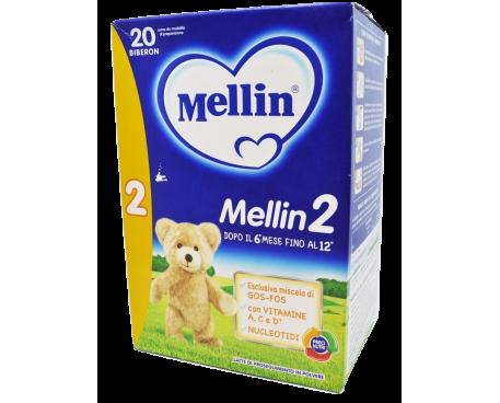 MELLIN 2 LATTE IN POLVERE 700G