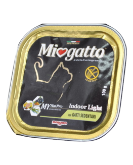 MIOGATTO ADULTO INDOOR LIGHT 100G