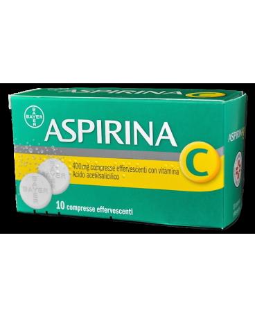 ASPIRINA C 10 COMPRESSE EFFERVESCENTI 400+240MG