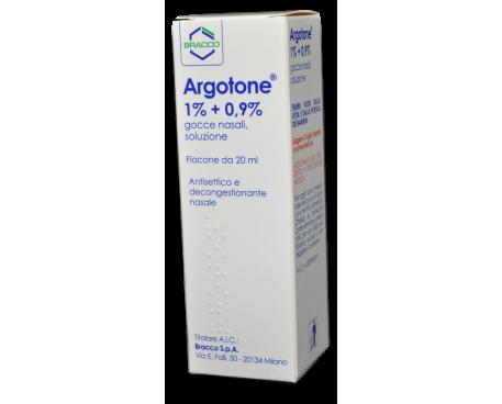 ARGOTONE GOCCE 20ML