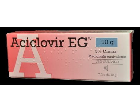 ACICLOVIR EG CREMA 3G 5%