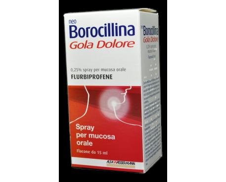 NEOBOROCILLINA GOLA SPRAY MENTA 15ML