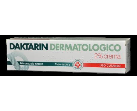 DAKTARIN CREMA DERMATOLOGICA 30G 2%